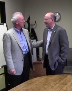 Craig Harper & Mayor Clarkson - San Ramon CA